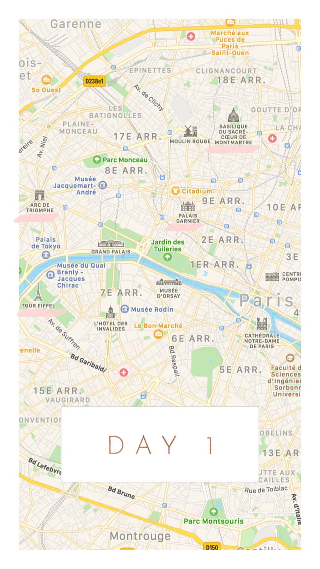 paris guide 2 day itinerary few days in
