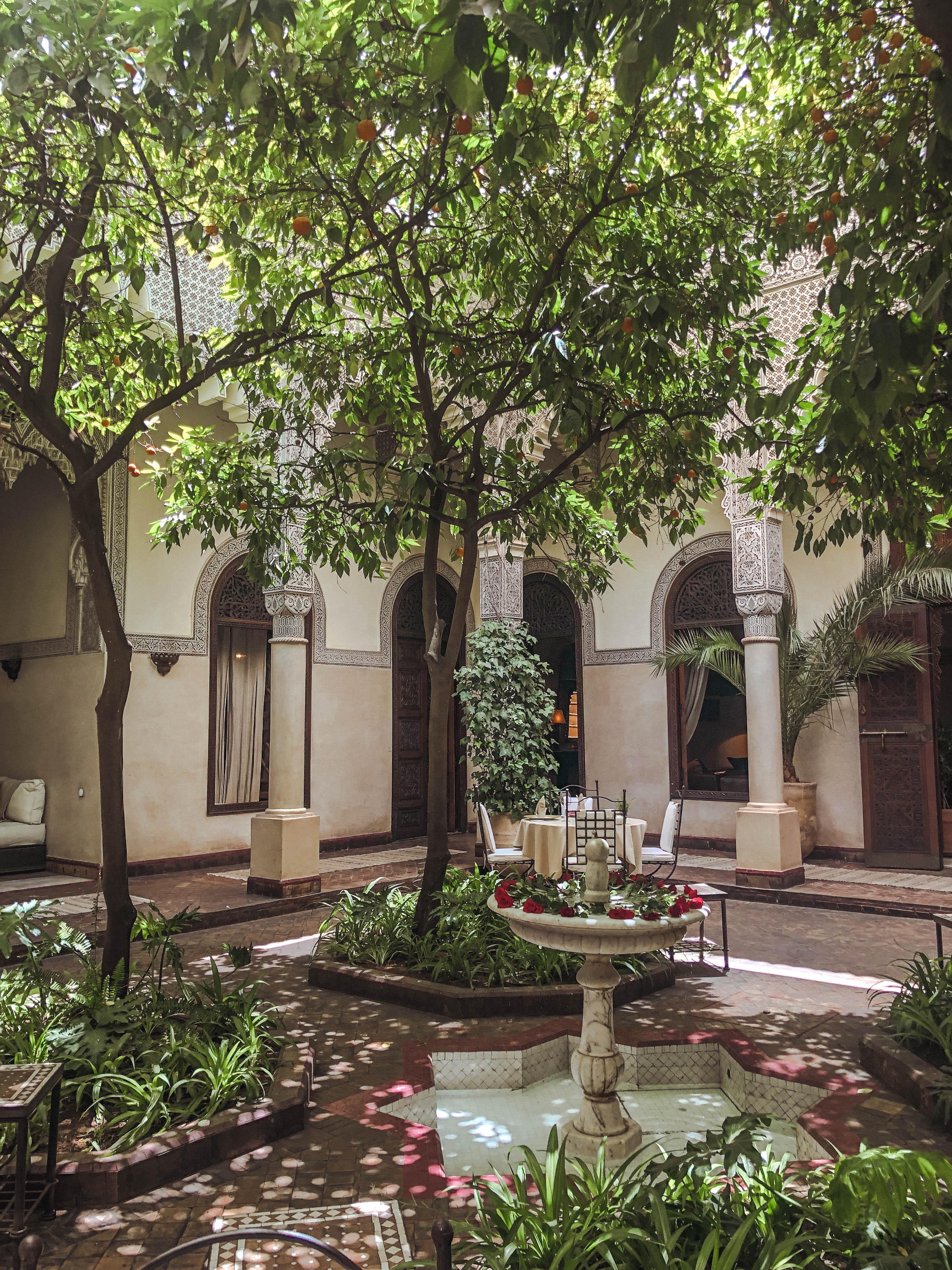 riad villa des orangers marrakech
